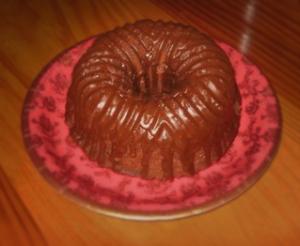 Luscious mini mahogany cake