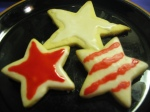Luscious 4th of July cookies