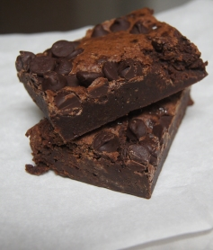 Luscious brownies