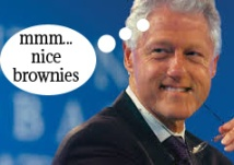 bill clinton loves Luscious