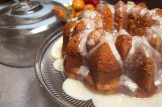 Sweet Potato Pineapple Bundt Cake