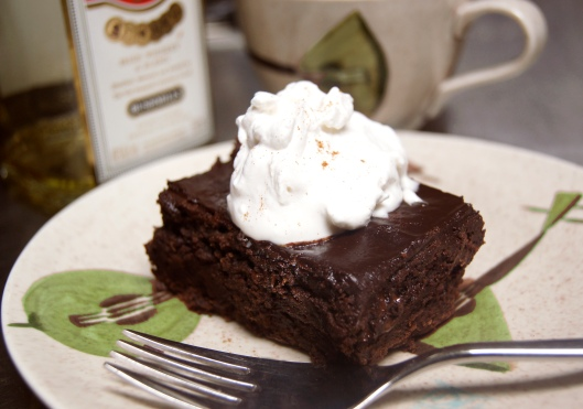 Irish coffee brownie